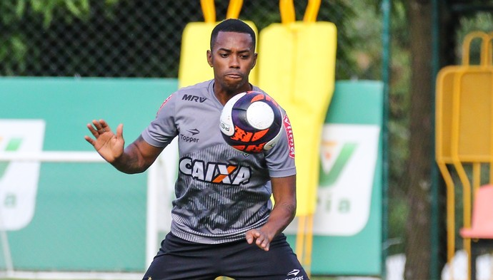 Robinho; Atlético-MG (Foto: Bruno Cantini/Atlético)