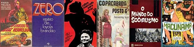 Obras produzidas no período do golpe de 1964 (Foto: Reprodução)