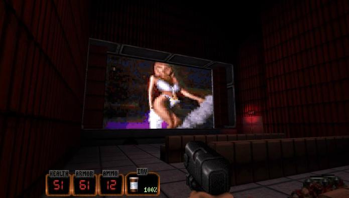 Como jogar Duke Nukem 20th Anniversary World Tour para PC e PS4 (Foto: Reprodução/Felipe Vinha)