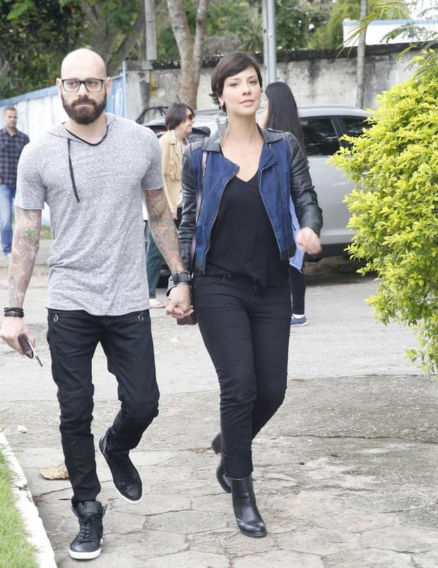 Camila Rodrigues e o namorado Ighor Payola (Foto: Dilson Silva/AgNews)