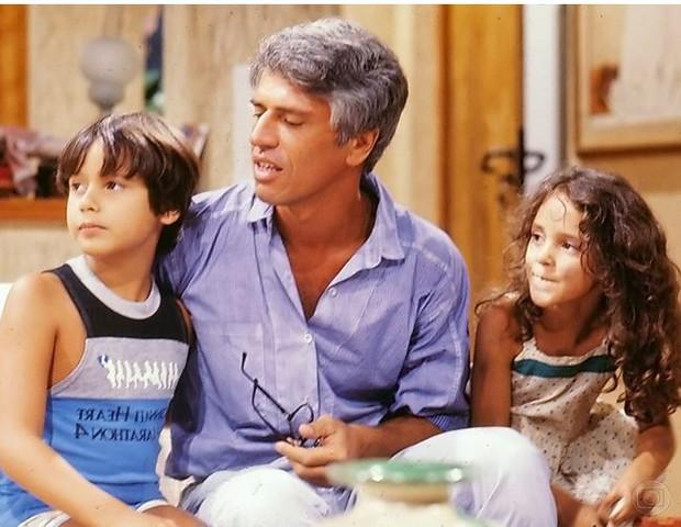 Selton Mello, Nuno Leal Maia e Juliana Lucas (Foto: Nelson Di Rago/Globo)