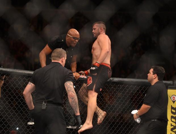 UFC Rio 5, Maldonado e Anderson Silva (Foto: André Durão / Globoesporte.com)