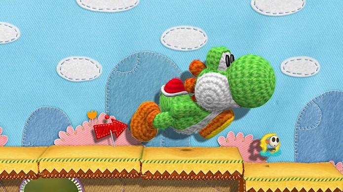 Gameplay de Yoshi's Wooly World é revelado em vídeo. (Foto: Divulgação)