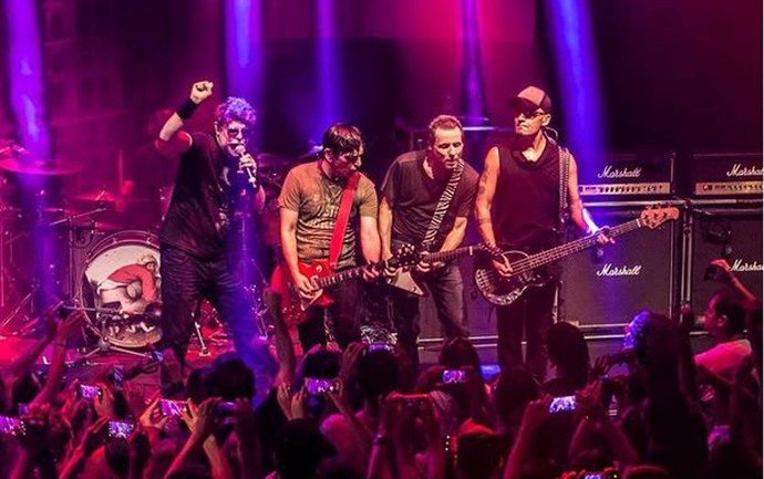 A banda Titãs volta ao palco do João Rock na edição de aniversário (Foto: Silmara Ciuffa)
