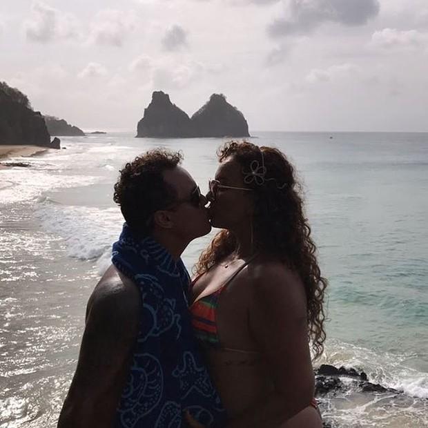 Jamerson Andrade e Solange Couto (Foto: Reprodução/Instagram)