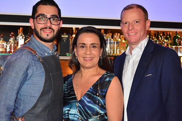 Mica, Andrea Carneiro e Michael (Foto: Reinaldo Rollo)