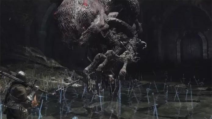 Porém, o novo elemento Heat Up pode transformar este inimigo em uma criatura bizarra (Foto: Reprodução/OnlySP)