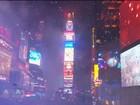 Nova York entra em 2016 com festa e forte esquema de segurança