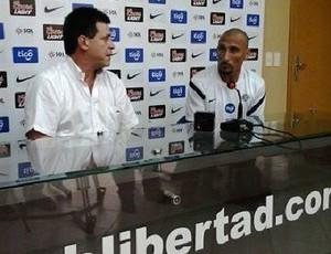 guinazu libertad internacional inter (Foto: Divulgação Club Libertad)