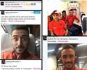 """Bola na rede social: time do Flamengo tá de """"pa pa parabéns"""" na internet"""