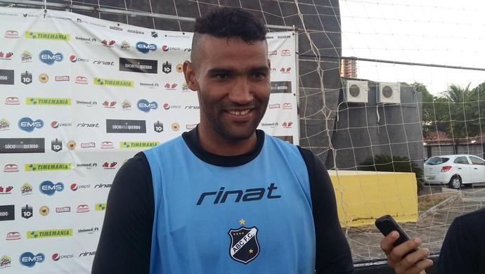 ABC - Edson, goleiro (Foto: Jocaff Souza/GloboEsporte.com)