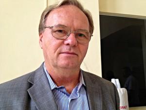 Ildo Renir Graebner, secretário de Segurança Pública do Acre (Foto: Veriana Ribeiro/G1)