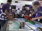 Torneio de robótica envolve 700 estudantes em competição no DF