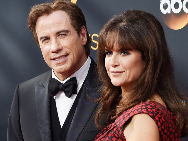 John Travolta e Kelly Preston (Foto: Getty Images)