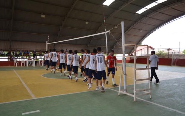 Jogos da Juventude fair play (Foto: Lia Anjos - GLOBOESPORTE.COM)