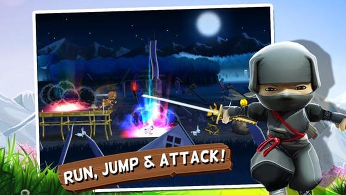 Ação eletrizante e combate contra samurais esperam você em Mini Ninjas (Foto: Divulgação)