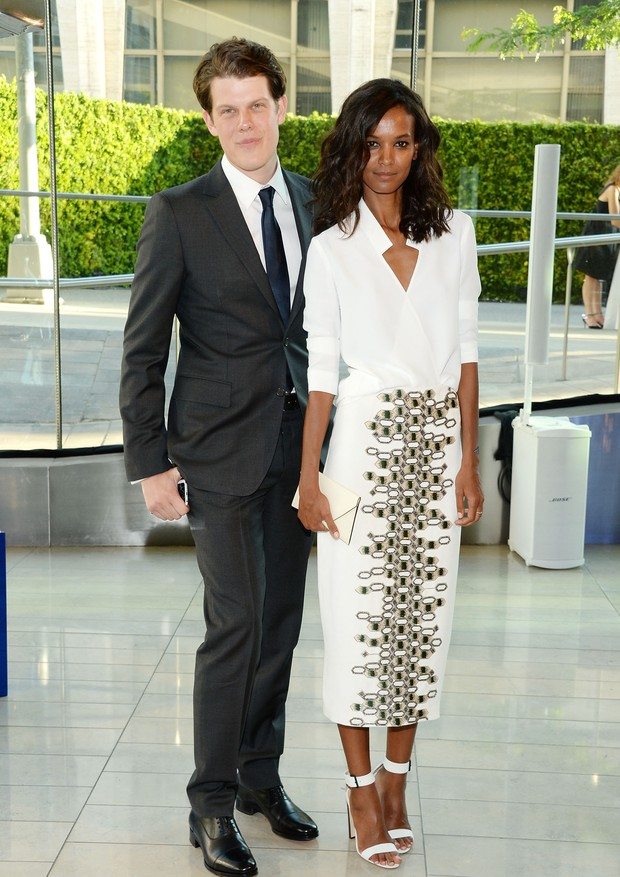 NEW YORK, NY - JUNE 02:  Designer Wes Gordon and model Liya Kebede attend the 2014 CFDA fashion awards at Alice Tully Hall, Lincoln Center on June 2, 2014 in New York City.  (Photo by Larry Busacca/Getty Images) (Foto: Getty Images)