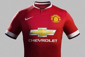Manchester United apresenta novo uniforme com patrocínio da Chevrolet (Foto: Divulgação)