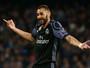 """Benzema reclama de críticas sobre o trio BBC: """"Sempre miram em nós três"""""""