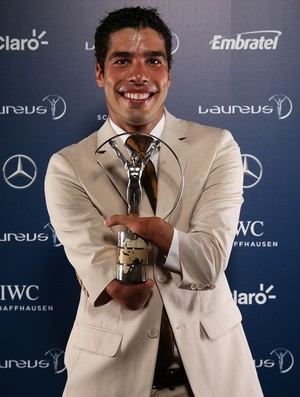Prêmio Laureus - Daniel Dias (Foto: Getty Images)