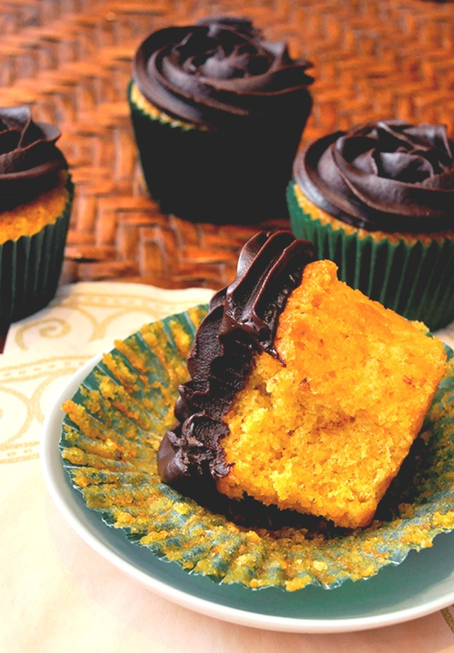 Cupcake de cenoura e chocolate (Foto: Divulgação)