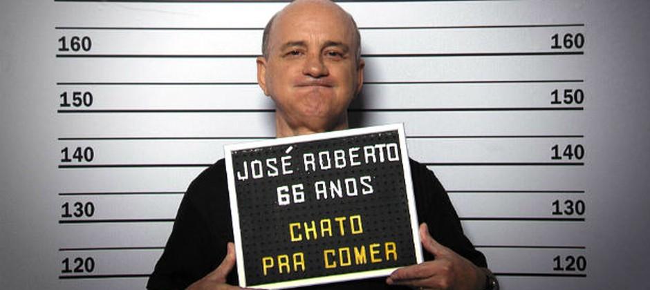 ´Chato' da vez, José Roberto não tolera alho, muito menos cebola