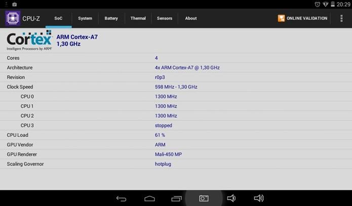 Tablet possui processador de quadro núcleos e boa GPU (Foto: Techtudo / Dario) (Foto: Tablet possui processador de quadro núcleos e boa GPU (Foto: Techtudo / Dario))