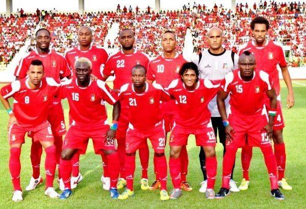 Dio na Seleção da Guiné Equatorial (Foto: Arquivo pessoal)
