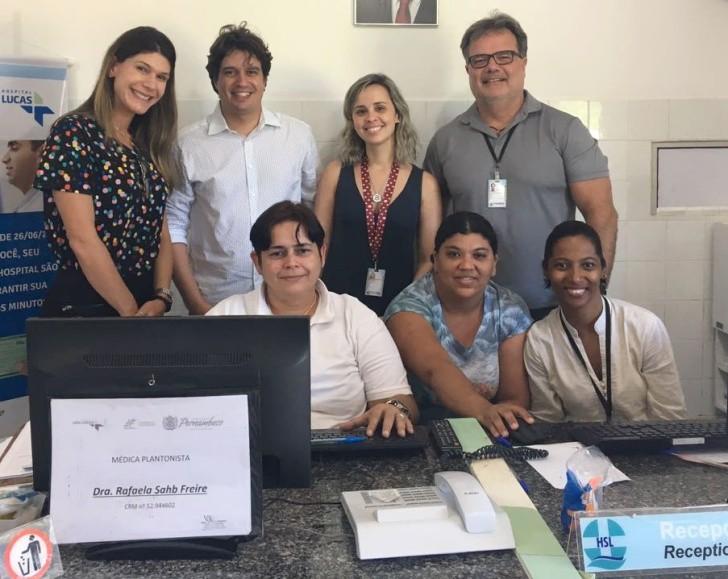 Visita Hospital São Lucas