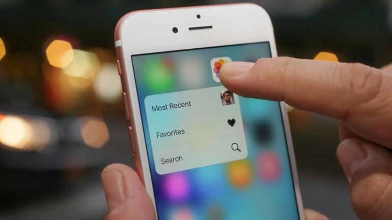 3d touch é um dos maiores destaques do 6s (Foto: Reprodução | CNET)