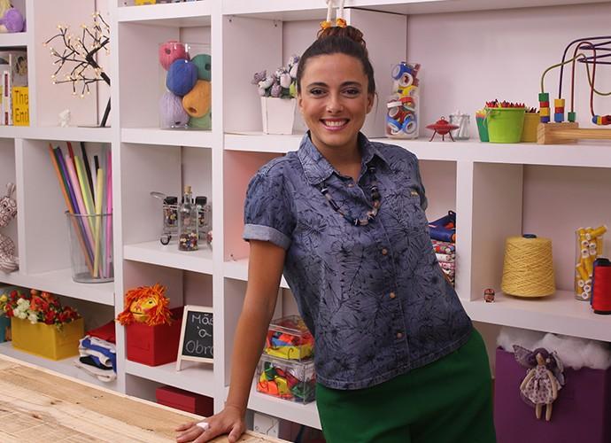 Kika Motta é artista visual e vai mostrar como criar brinqueidos lúdicos para o seu filho (Foto: Divulgação)