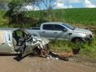Família argentina que ia para SC sofre acidente em rodovia do Paraná