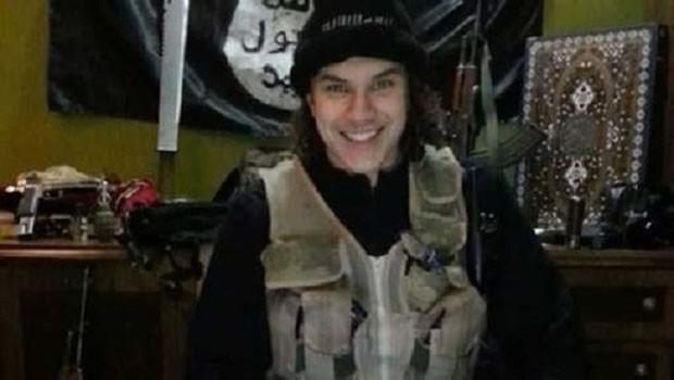 """Brian De Mulder, o jovem belga de origem brasileira que desde janeiro de 2013 engrossa as filas do autodenominado """"Estado Islâmico"""" na Síria (Foto: BBC)"""