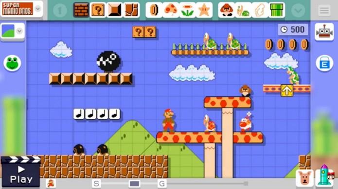 Mario Maker permitirá que você crie suas próprias fases no Nintendo Wii U (Foto: Reprodução/GameInformer)