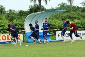 Treino Avaí CFA (Foto: Vandrei Bion/Avaí FC)