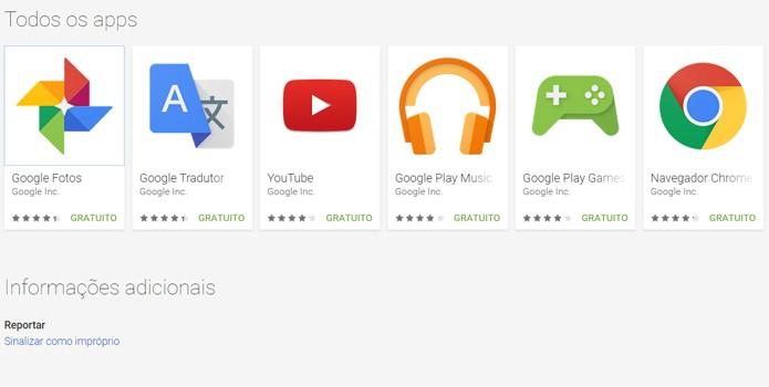 Google elimina alguns aplicativos do pacote obrigatório de apps do Android (Foto: Reprodução/Filipe Garrett)