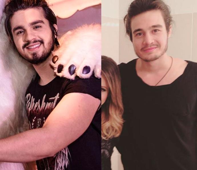 Luan Santana ou Tiago Iorc? As semelhanças entre os cantores impressiona os fãs (Foto: Reprodução Internet)