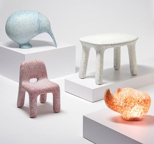 ecobirdy-objetos-reciclados-de-plastico-de-brinquedos (Foto: Reprodução)