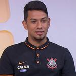 Lucca, atacante do Corinthians; Seleção (Foto: Reprodução/SporTV)