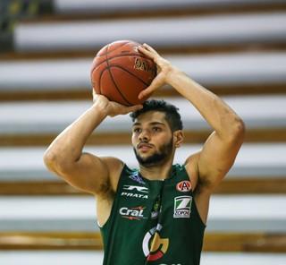 Léo Meindl, ala, Bauru Basket, treino, NBB 9 (Foto: Caio Casagrande / Bauru Basket)