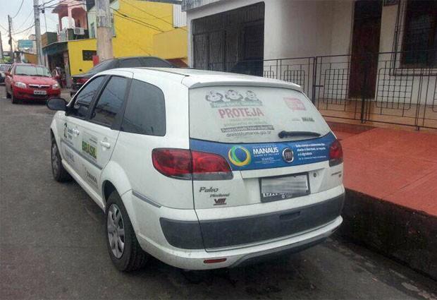 Carro já está sendo usado pelos conselheiros do Conselho Tutelar Manaus - Sul I (Foto: Divulgação/Conselho Tutelar Manaus - Sul I)