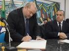 Márcio Catão toma posse do cargo de prefeito de Teresópolis, no RJ