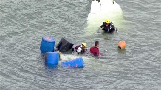 Bombeiros retiram todos os corpos do local do acidente que matou Teori