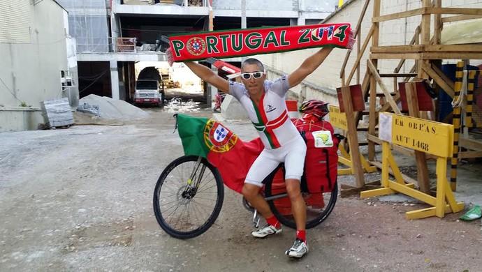 Jorge Franco torcedor português atropelamento Campinas Copa do Mundo 2014 (Foto: Arquivo Pessoal)