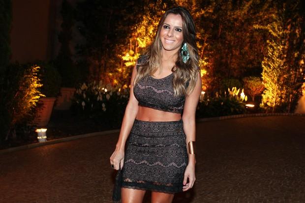 Paola Machado, esposa do Carioca (Foto: Manuela Scarpa e Marcos Ribas/Foto Rio News)