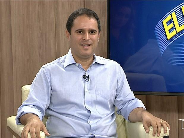 Edivaldo Holanda Júnior falou sobre os maiores desafios para nova gestão (Foto: Reprodução/TV Mirante)