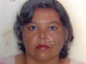 Marizete de Fátima Machado, de 53 anos, foi baleada e teve o corpo queimado em Goiânia, Goiás (Foto: Reprodução/ TV Anhanguera)
