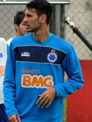 Leandro Guerreiro Cruzeiro treino (Foto: Tarcísio Badaró)