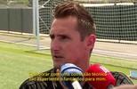 Klose fala da experiência como assistente na seleção alemã na Copa das Confederações