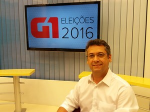 Clécio Luís, candidato à prefeitura de Macapá pelo Rede Sustentabilidade (Foto: John Pacheco/G1)